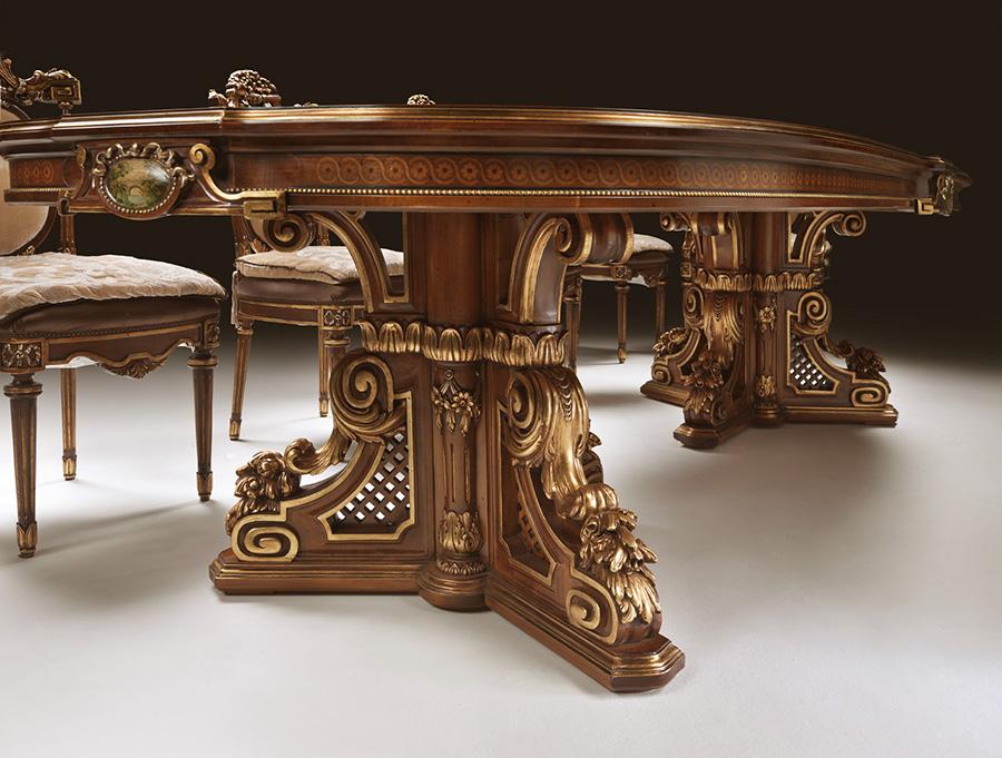 Sala da pranzo in stile francese Trianon   Esposizione Artigiani ...