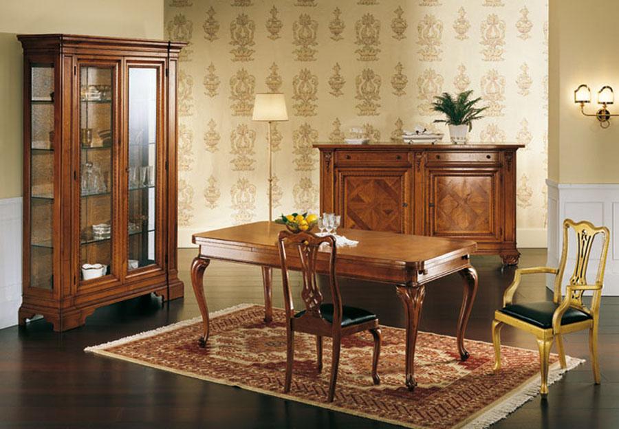 Sala da pranzo in stile provenzale Cristal | Esposizione Artigiani ...