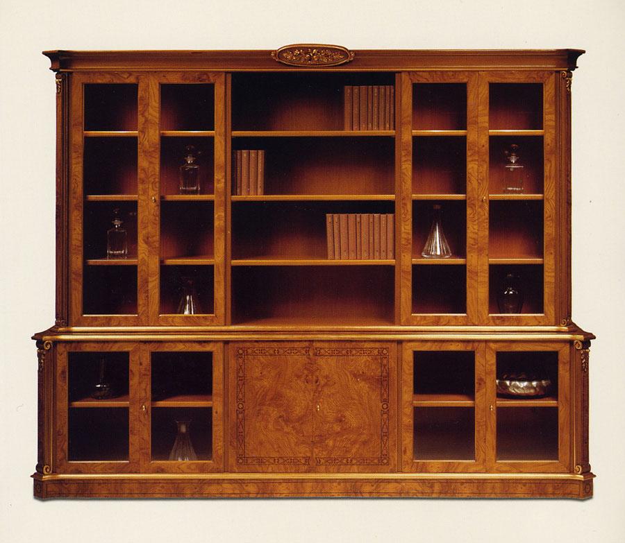 Libreria stile francese artemide esposizione artigiani for Mobili neoclassici