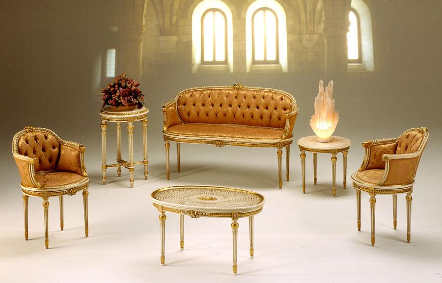 Salottino stile Luigi XVI Prestige | Esposizione Artigiani Medesi ...