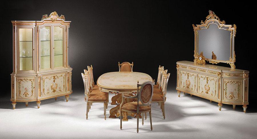 Sala da pranzo in stile francese Lille | Esposizione Artigiani ...