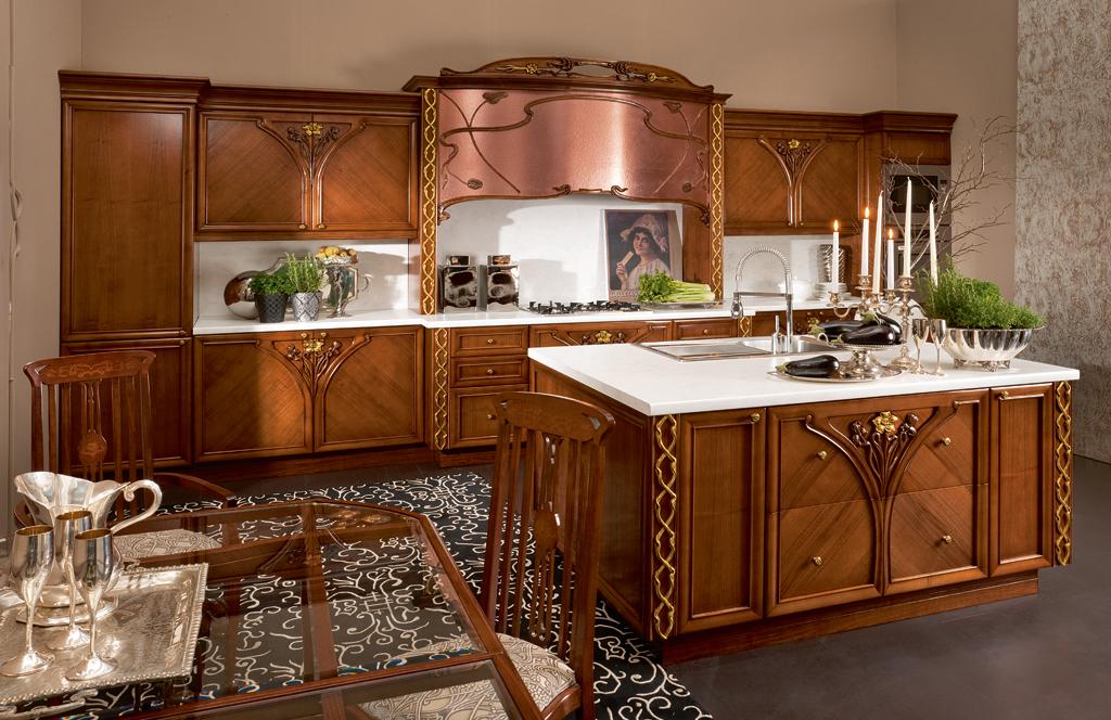Cucina liberty iris - Cucina stile liberty ...