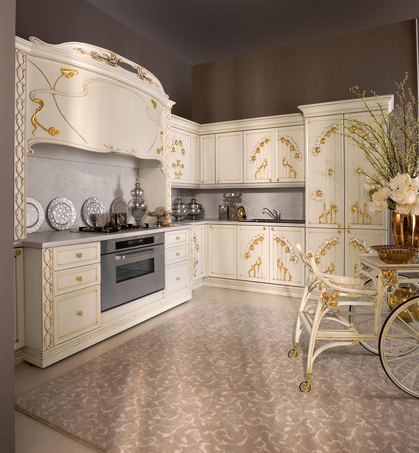 Emejing cucine stile liberty pictures for Arredamenti stile liberty
