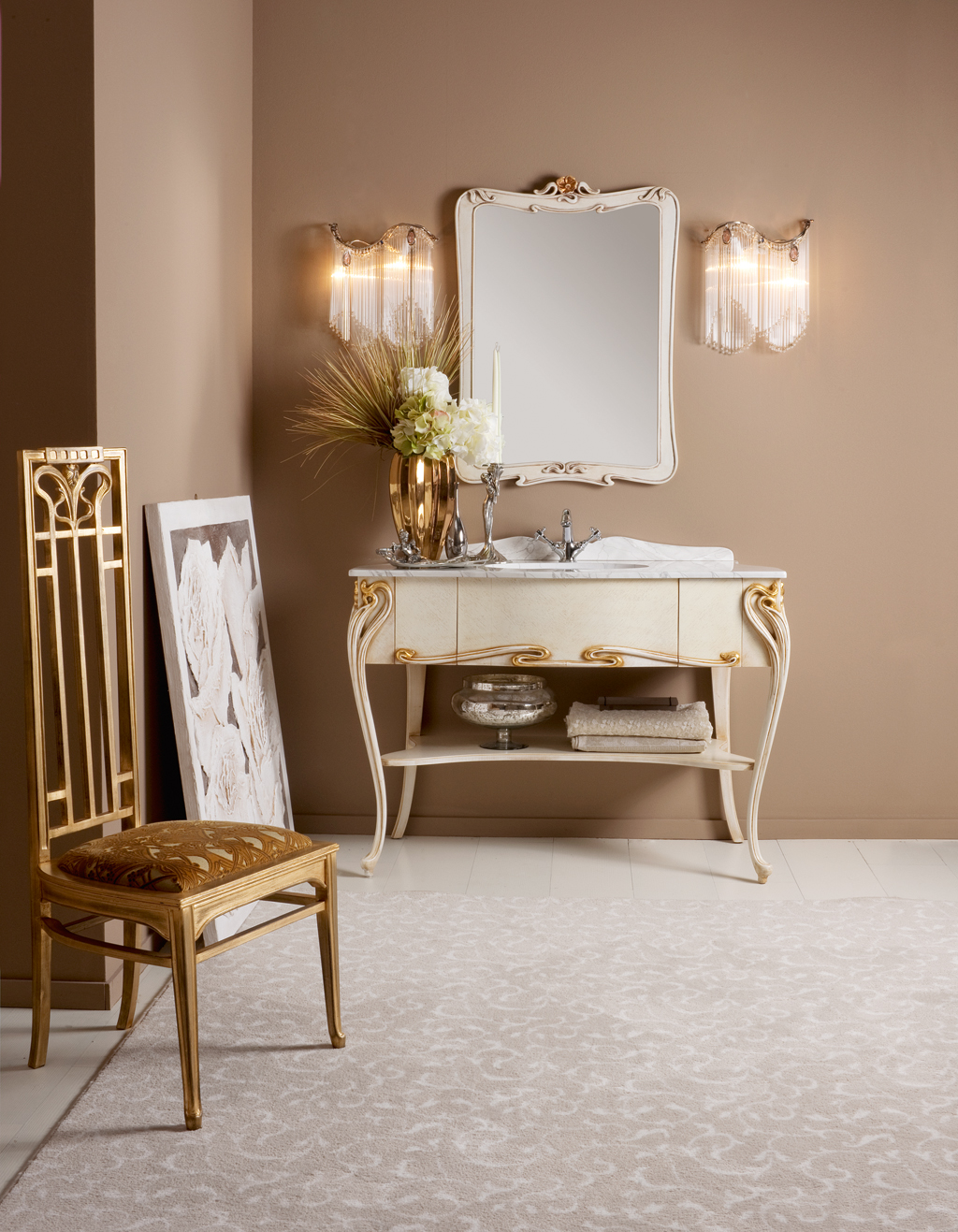 consolle e specchi per bagno Prestige