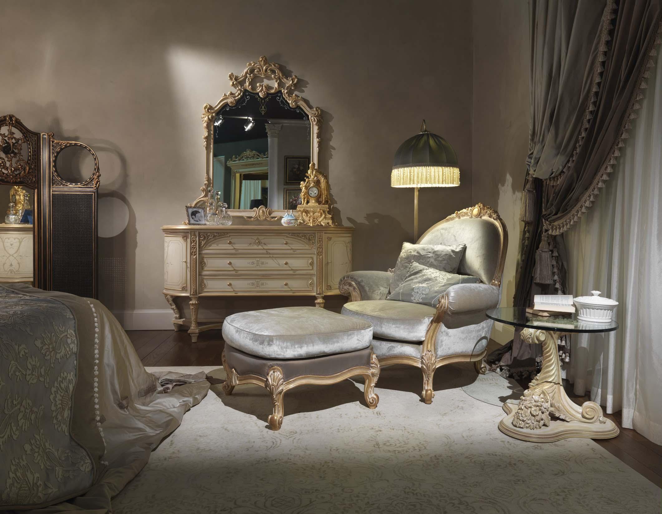 camera da letto stile francese Chic
