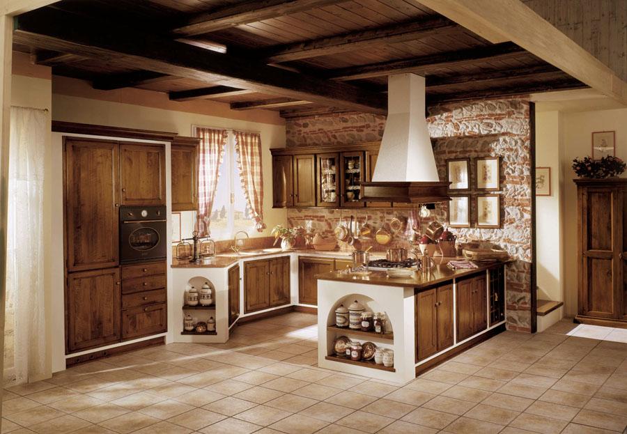 Cucina in muratura amelia esposizione artigiani medesi - Cucina country in muratura ...