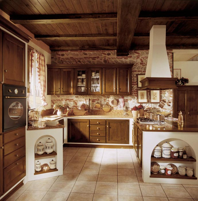 Cucina in muratura Amelia | Esposizione Artigiani Medesi - Meda (MB)