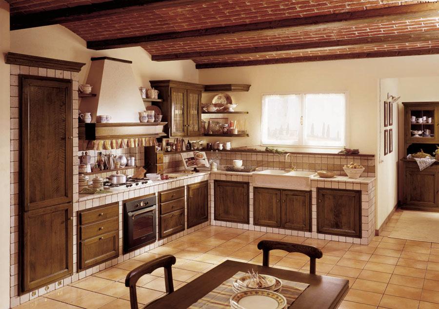 Cucina in muratura ada esposizione artigiani medesi - Strutture per cucine componibili ...